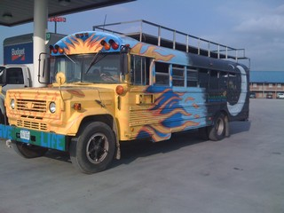 Bonnaroo Bus